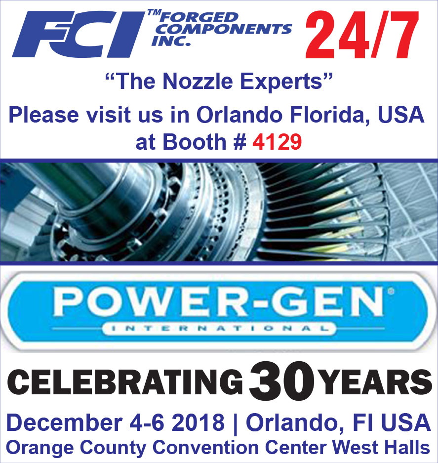 See FCI pressure vessel manufacturing at POWER-GEN International