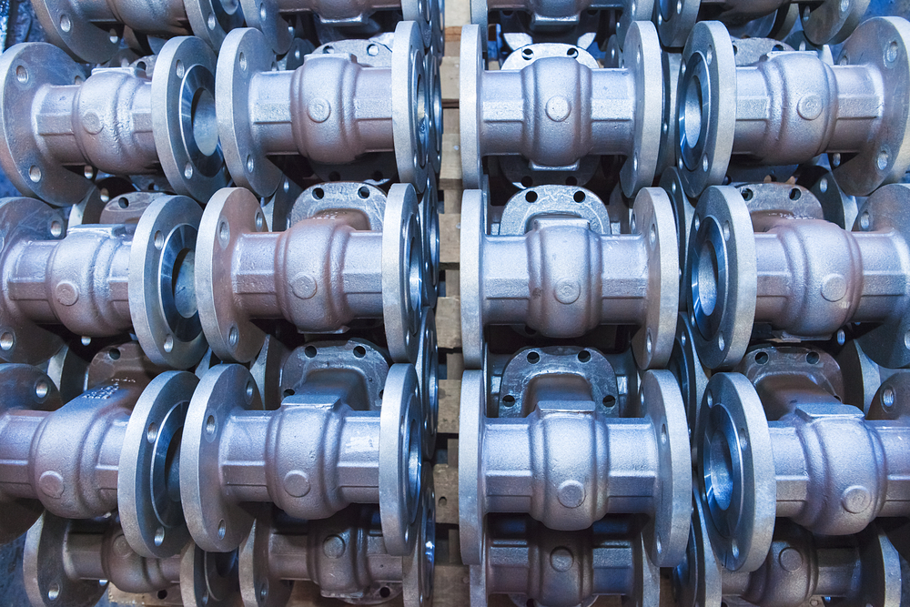 Valves for forged vessel components