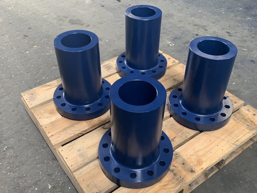 Examples of ANSI flanges produced at FCI, the world's premier ANSI flange manufacturers