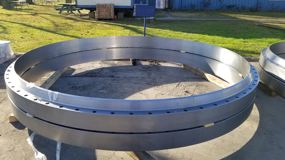 Examples of ANSI large diameter flanges produced at FCI, the world's premier large diameter flange manufacturers