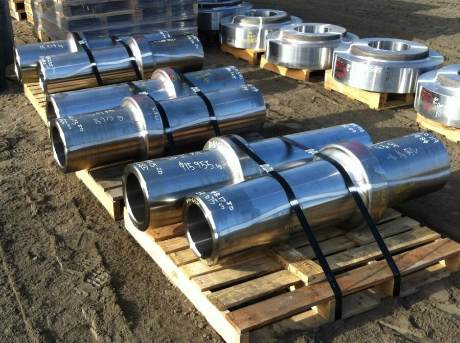 Forged components from an industrial flange manufacturer