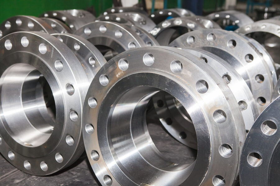 Forged stainless steel industrial flanges