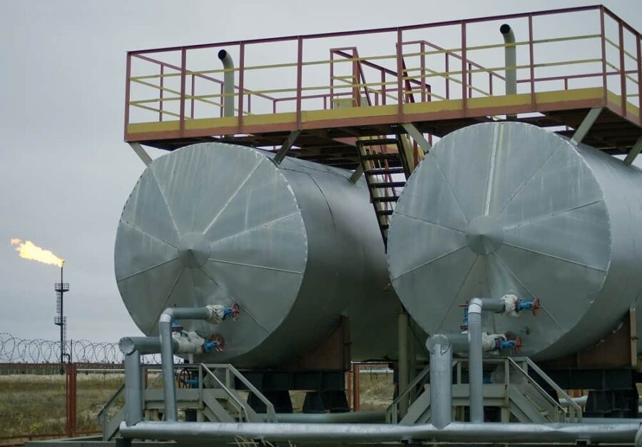 Oil and gas separator forged components